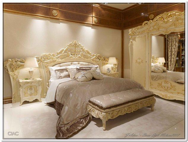 классическая спальня Bacci Stile спальня интерьеры Abitare